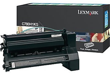 Lexmark C780H1KG lasertoner, sort, 10000s