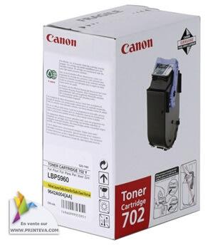 Canon nr.702Y/9642A004AA lasertoner, gul, 6000s