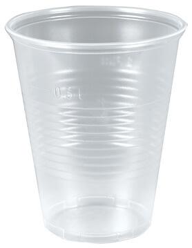 Plastglas 30 cl, bred