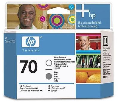HP nr.70/C9410A printhoved, gloss enchanter og grå
