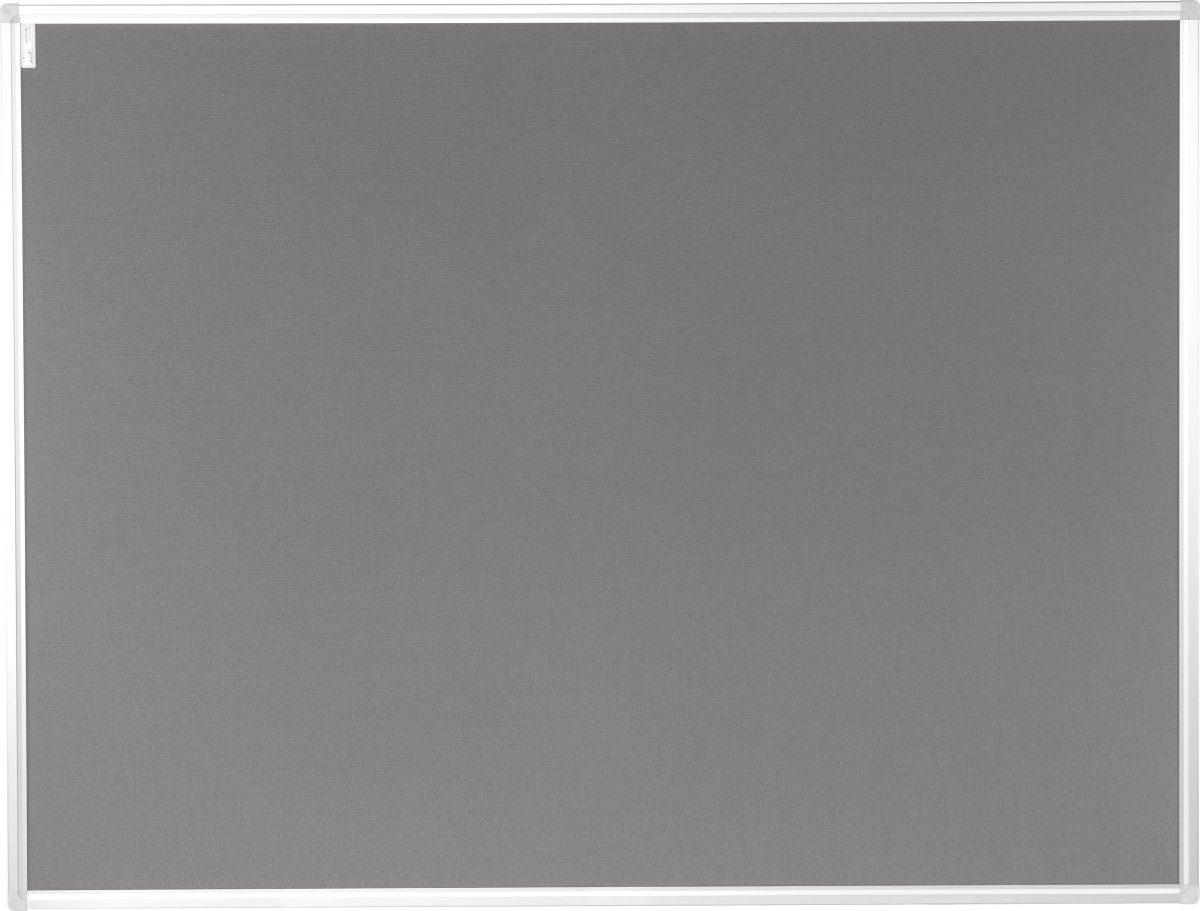 Vanerum opslagstavle 122,5x202,5 cm, grå filt