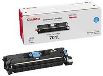 Canon nr.701LC/9290A003 lasertoner, blå, 2000s