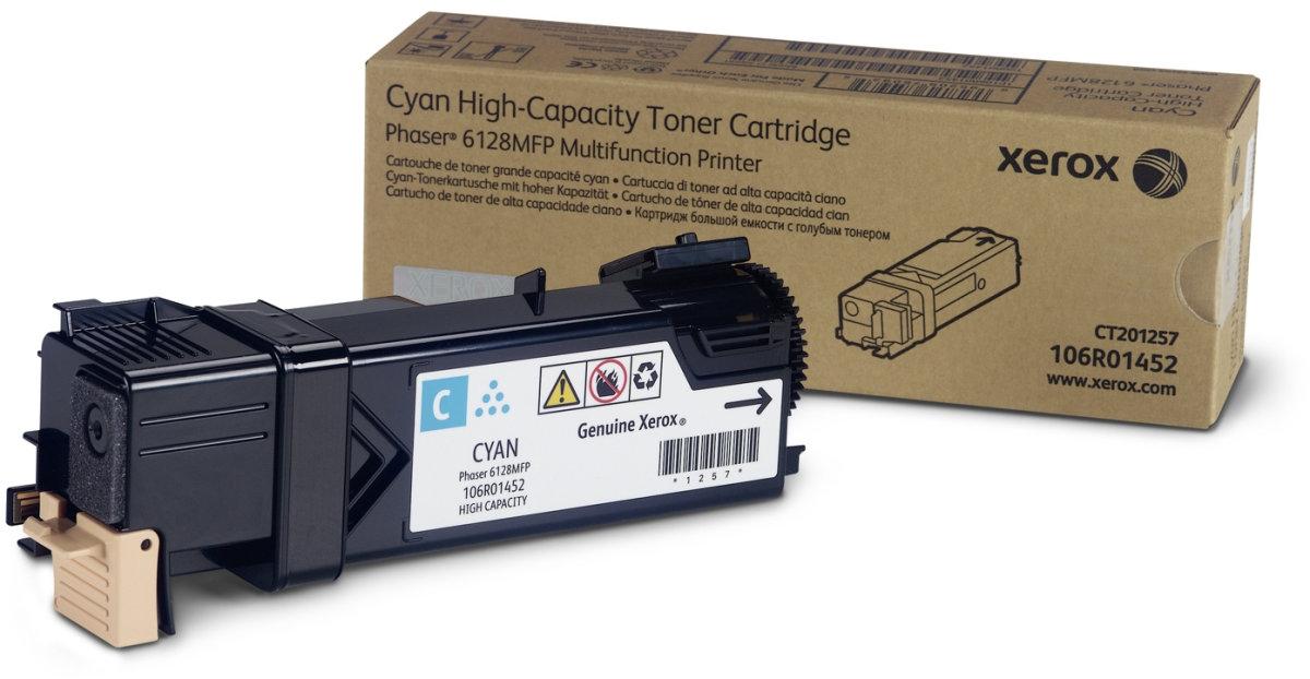 Xerox 106R01452 lasertoner, blå, 2500s