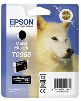 Epson nr.T0968/C13T09684010 blækpatron, mat sort,