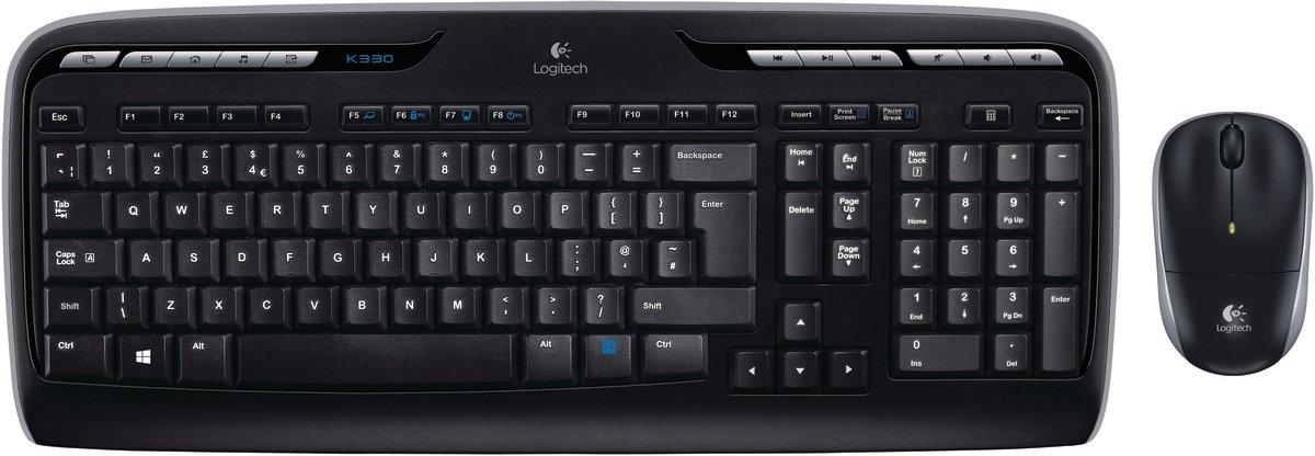 Logitech MK330 Wireless Combo mus/tastatursæt