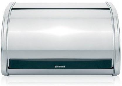 Brabantia Roll Top Medium brødkasse, blank stål