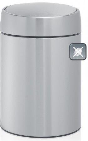 Brabantia Slide Bin 5 liter, mat stål
