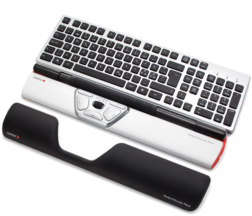 Contour RollerMouse Red