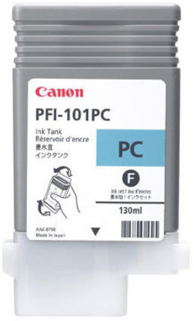 Canon PFI-101C blækpatron, cyan, 130ml