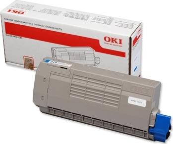 OKI 44318607 lasertoner, blå, 11500s