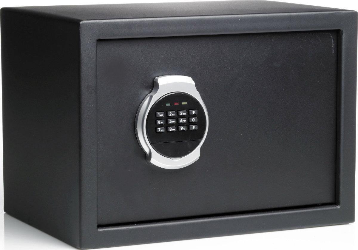 LOCK pengeskab 15 liter, Kodelås, 250x350x250 mm
