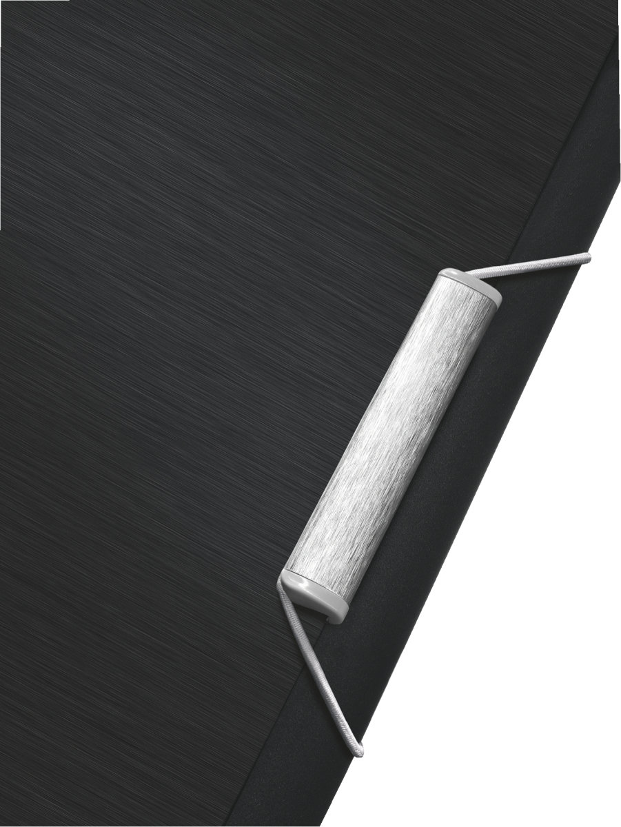 Leitz Style projektmappe, sort