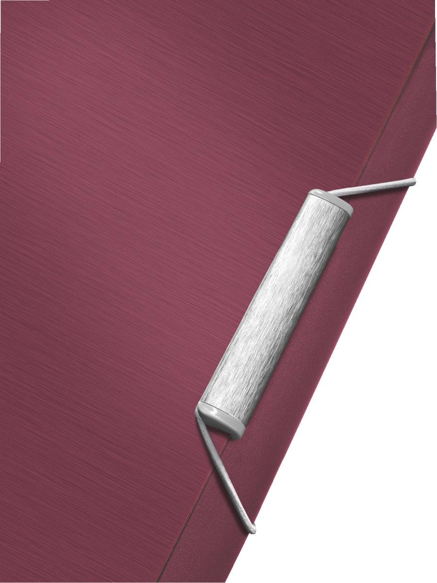 Leitz Style elastikmappe, rød