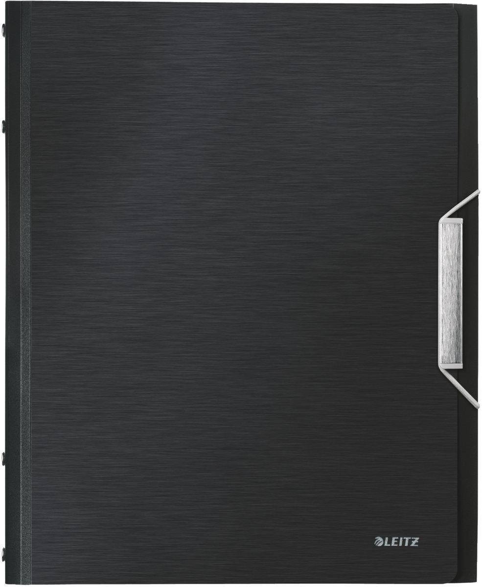 Leitz Style sorteringsmappe 6-delt, sort