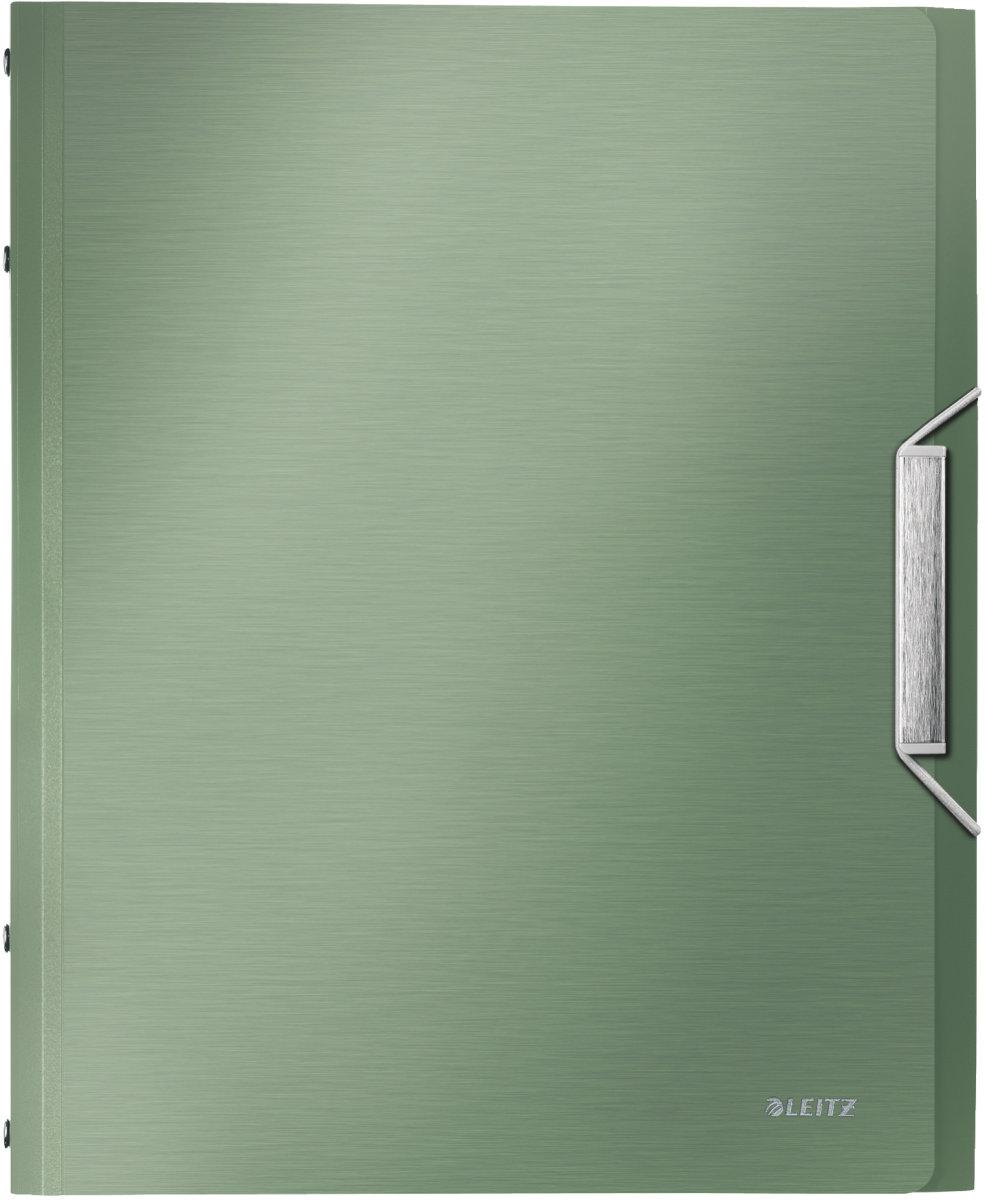 Leitz Style sorteringsmappe 12-delt, grøn