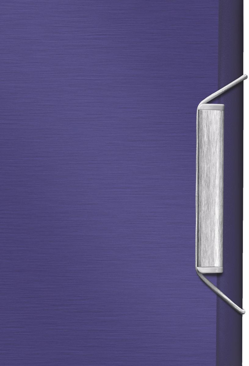 Leitz Style elastikmappe, blå