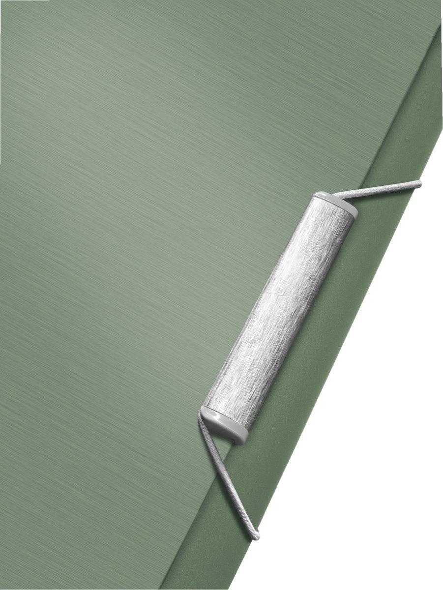 Leitz Style elastikmappe, grøn