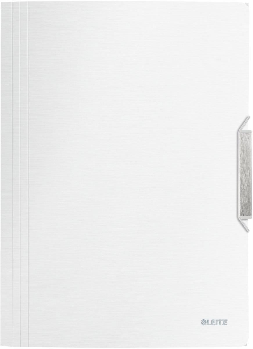 Leitz Style elastikmappe, hvid