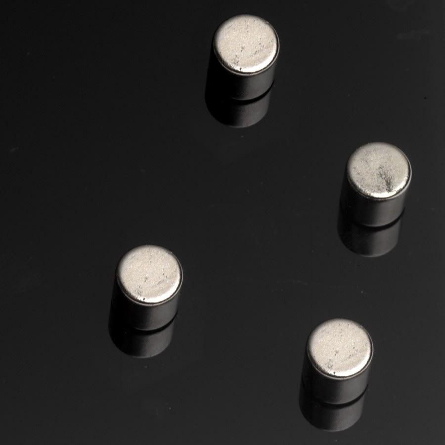 Ekstra stærke cylindriske magneter, 4 stk