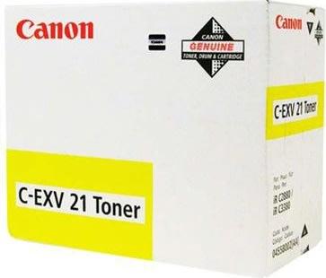 Canon 0455B002AA lasertoner, gul, 26000s