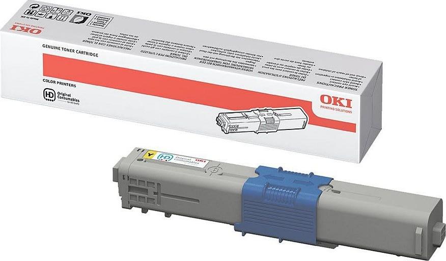 OKI 44469722 lasertoner, gul, 5000s