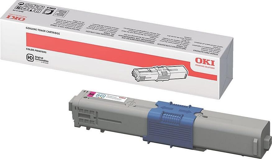 OKI 44469723 lasertoner, rød, 5000s