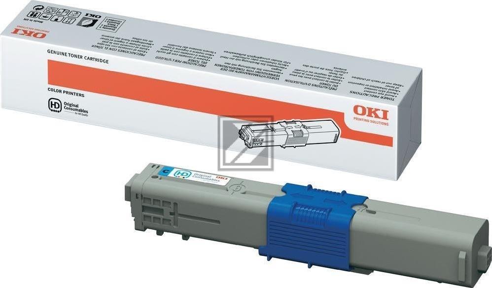 OKI 44469724 lasertoner, blå, 5000s