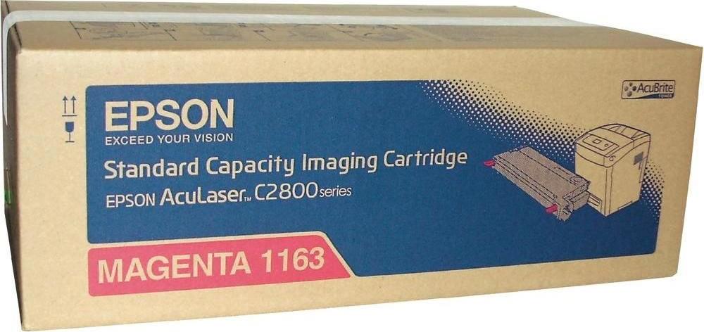 Epson C13S051163 lasertoner, rød, 3000s