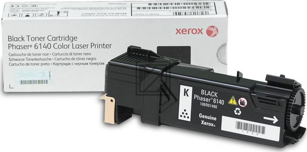 Xerox 106R01480 lasertoner, sort, 2600s