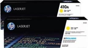 HP nr. 412A/CF412A lasertoner, gul, 2300 s.