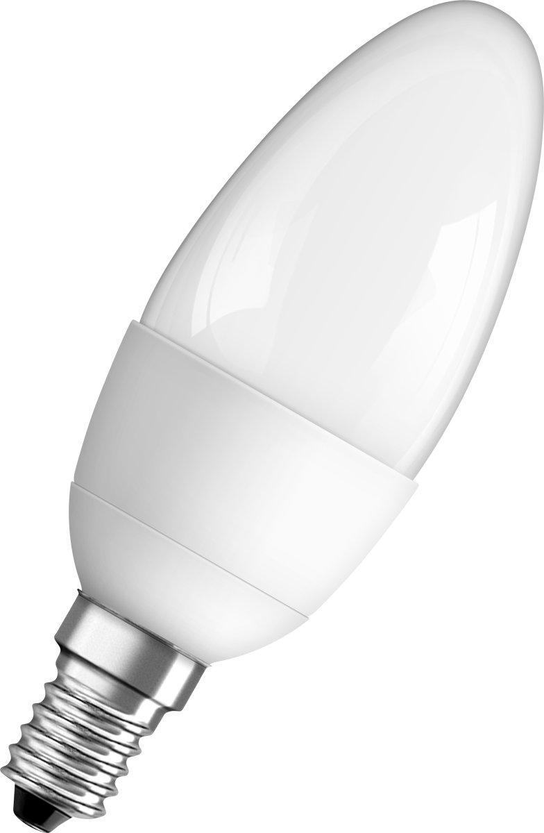 Osram LED Kertepære E14, 6W=40W