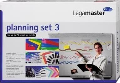 Legamaster plansæt 3  til whiteboardtavle