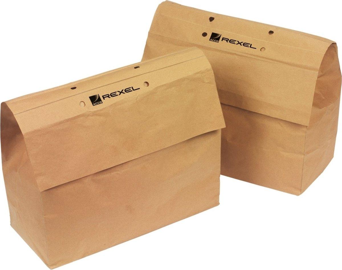 Rexel 2102247 genbrugsmakulatorposer, 23 L, 20 stk