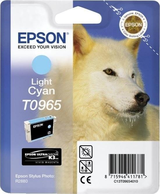 Epson nr.T0965/C13T09654010 blækpatron, lys blå,