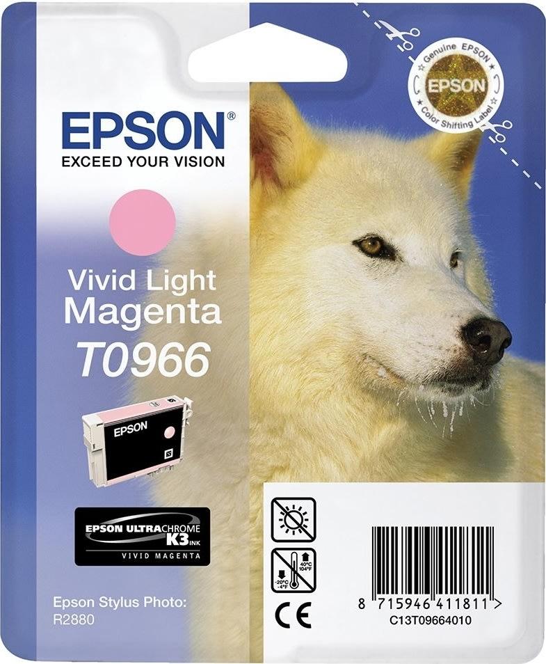 Epson nr.T0966/C13T09664010 blækpatron, lys rød, 9