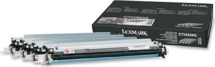 Lexmark C734X24G photo conducter, 20000s, 4pk