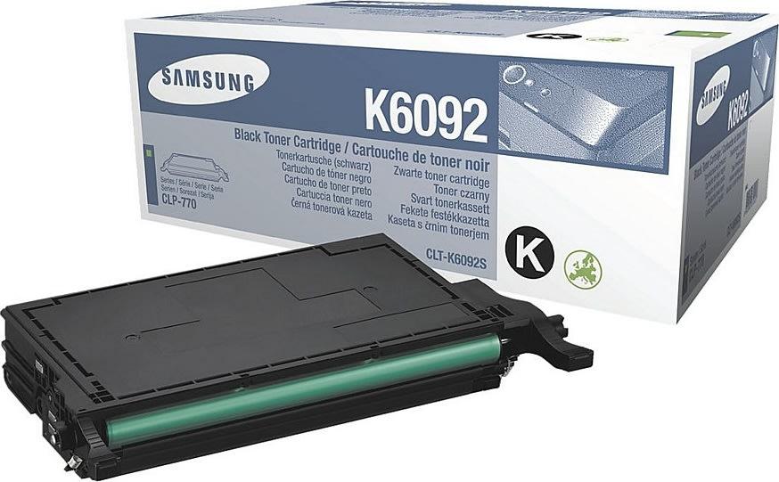 Samsung CLT-K6092S lasertoner, sort, 7000s