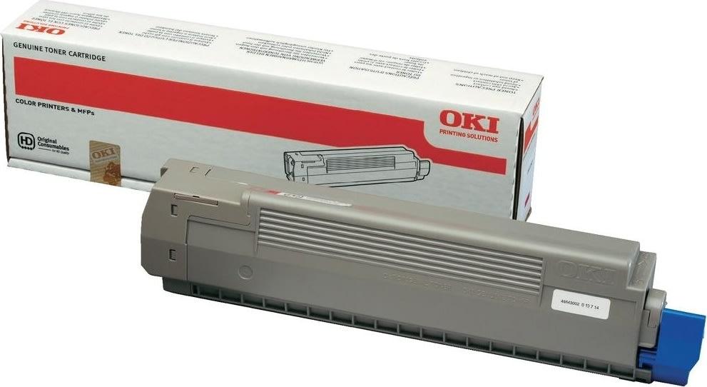 OKI 44643002 lasertoner, rød, 7300s