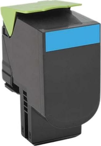 Lexmark 80C20C0 toner cyan 1000 s.