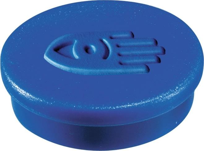 Legamaster magneter, 20 mm, blå, 10 stk