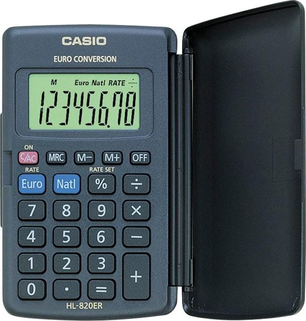 Casio HL 820 lommeregner