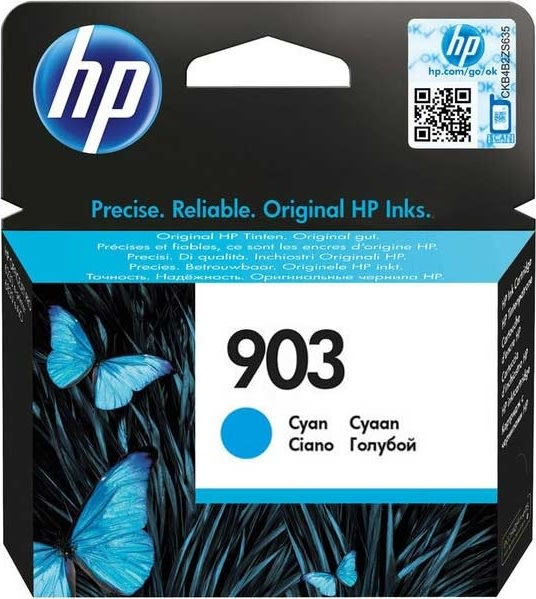 HP no.903/T6L87AE blækpatron, cyan 315 sider