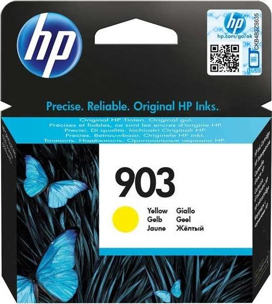 HP no.903/T6L95AEblækpatron, gul 315 sider