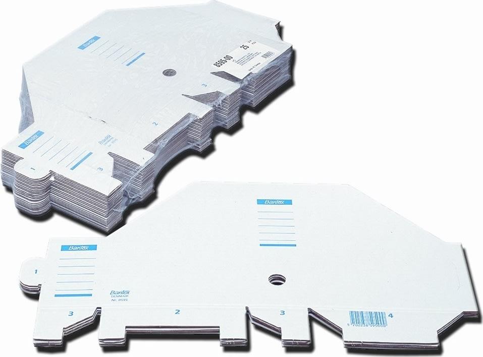 Bantex tidsskriftsamler A4, hvid