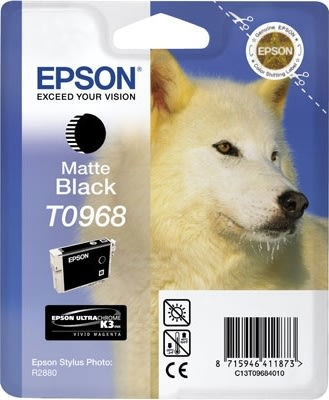 Epson nr.T0969/C13T09694010 blækpatron, lys sort,