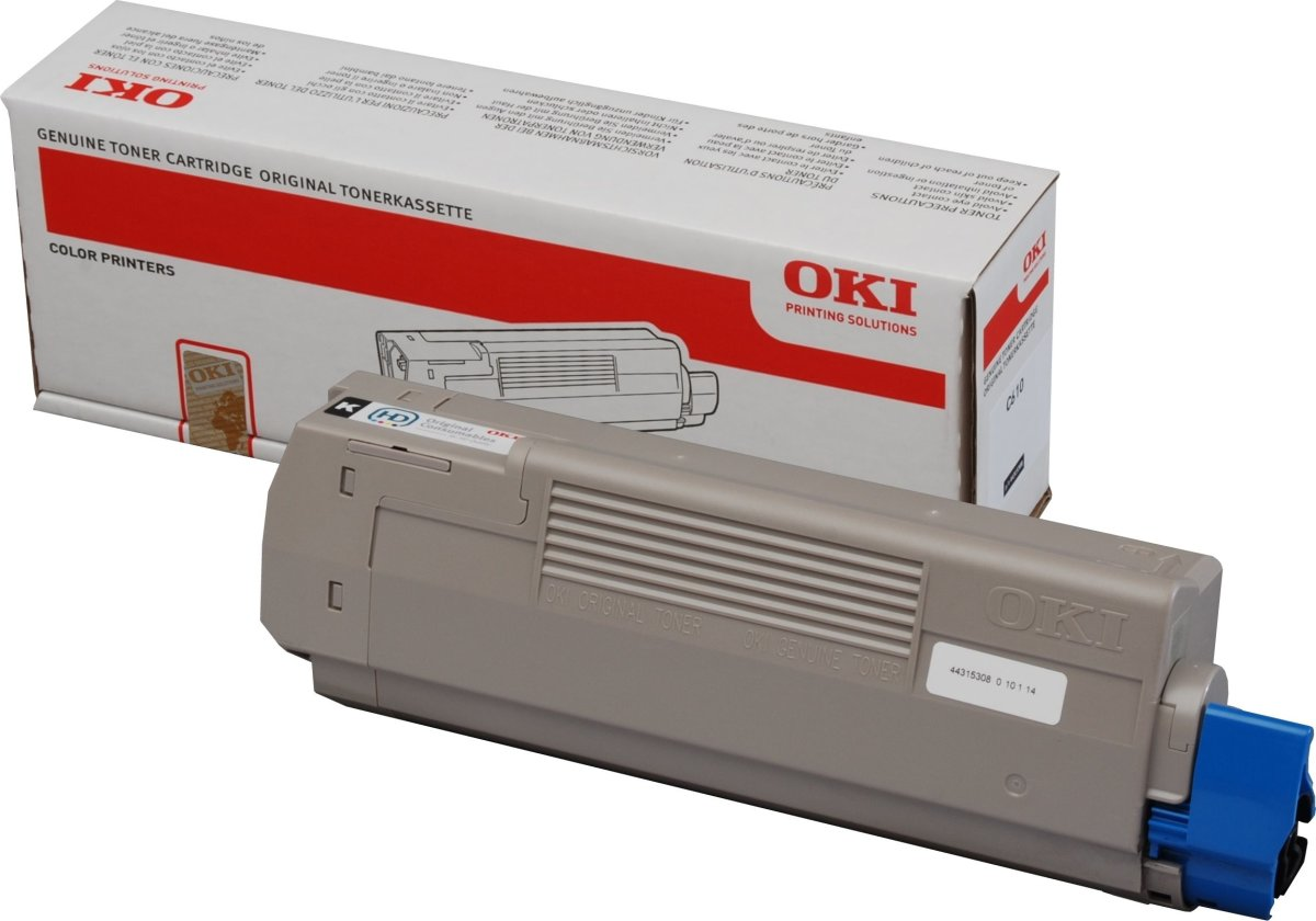 OKI 44315306 lasertoner, rød, 6000s