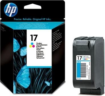 HP nr.17/C6625AE blækpatron, 3-farvet, 430s