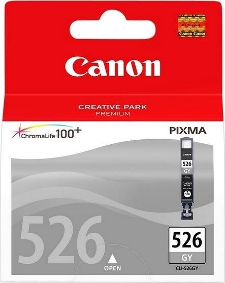 Canon CLI-526GY blækpatron, grå, 1515s