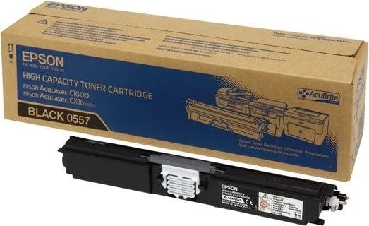 Epson C13S050557 lasertoner, sort, 2700s