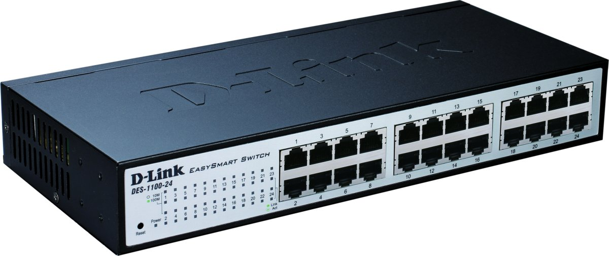 D-Link DGS-1100-16 Switch, 16 Ports 10/100/1000